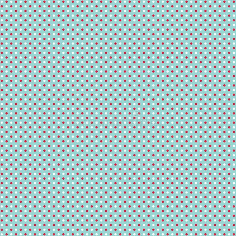 polki kropki wzór ilustracja wektor