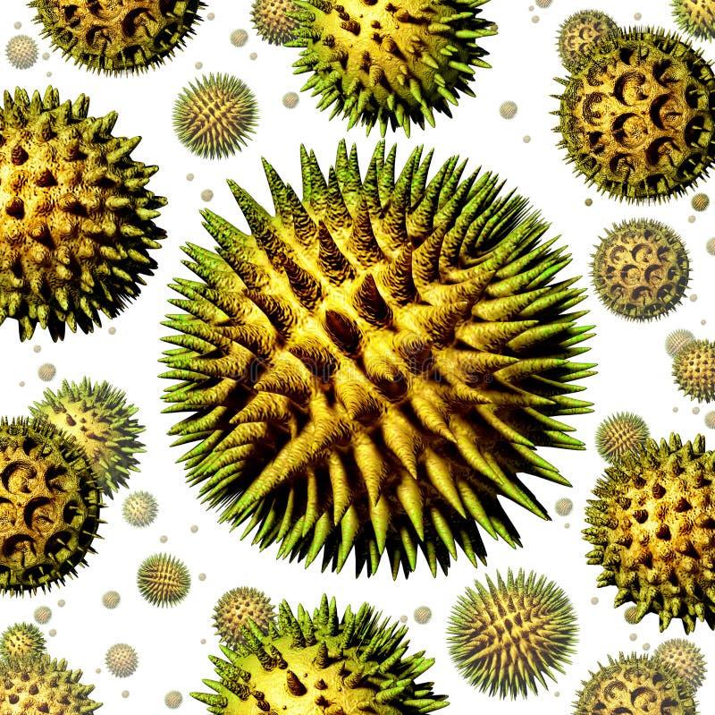 Pollen illustration de vecteur