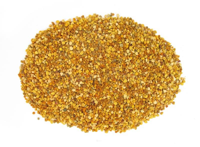 Download Pollen Granules In Wooden Spoon Stock Image - Image: 10788527
