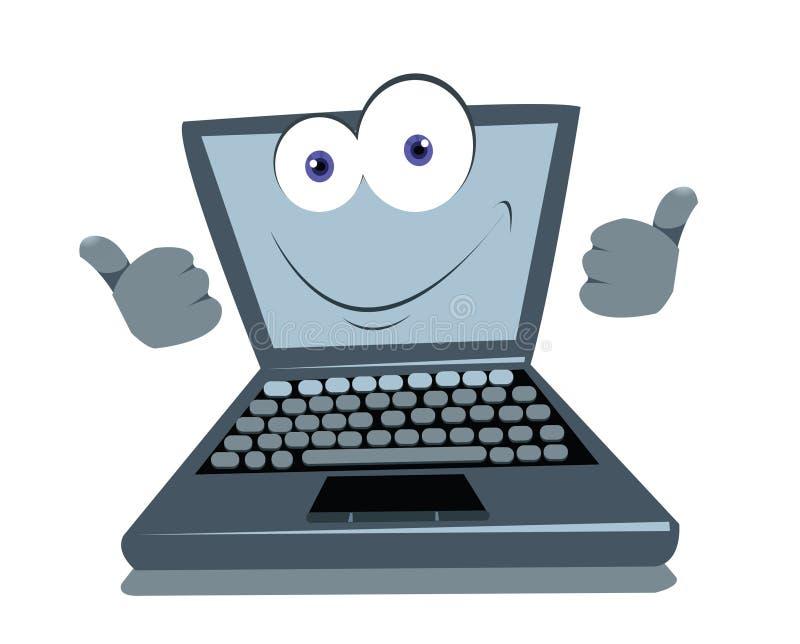 Pollici divertenti del computer portatile in su for Immagini divertenti desktop