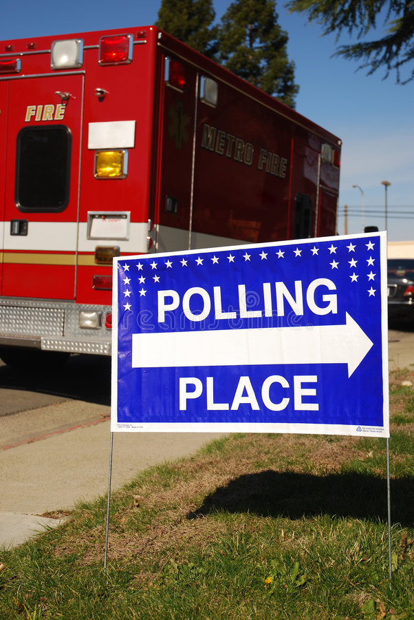 Polling Place Stock Photography