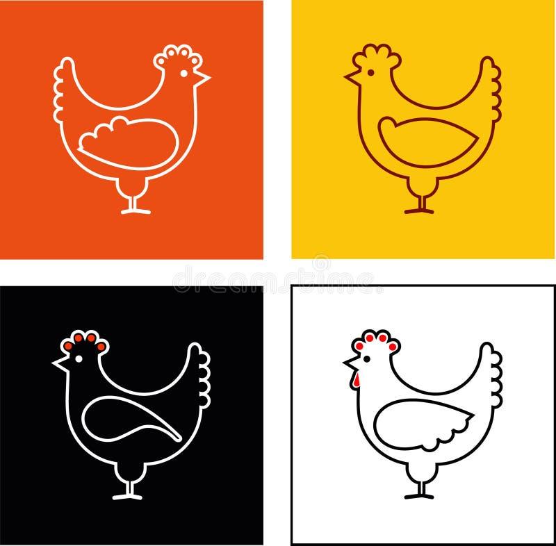 Pollo illustrazione di stock