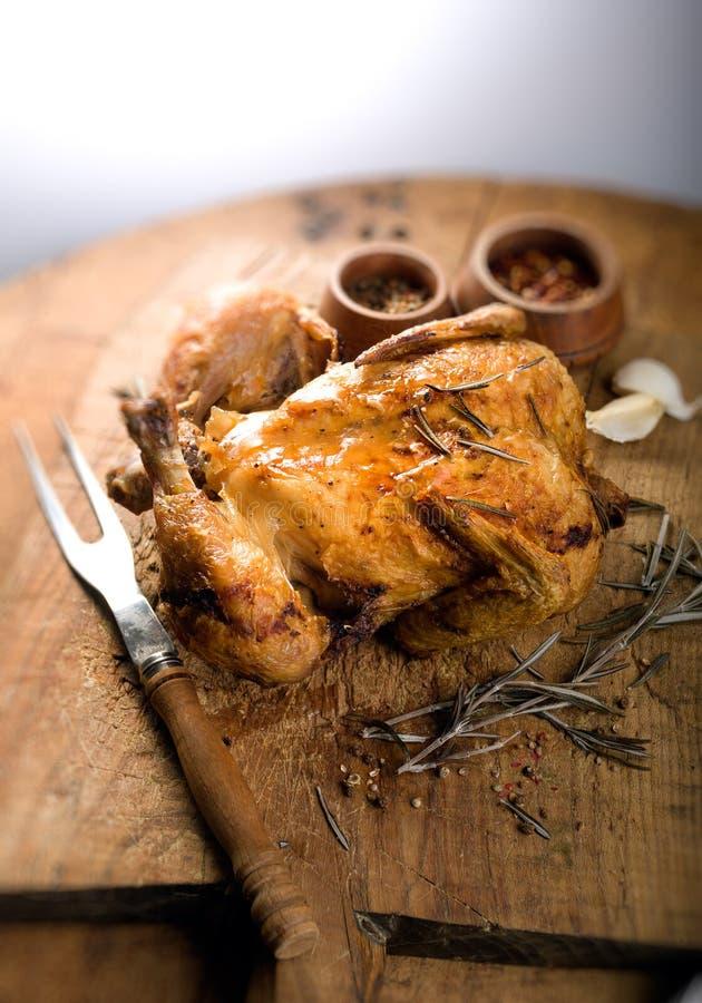 Pollo arrostito fotografie stock libere da diritti