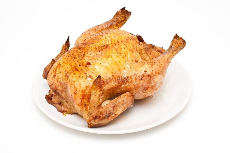 Pollo arrosto/di appoggio immagine stock
