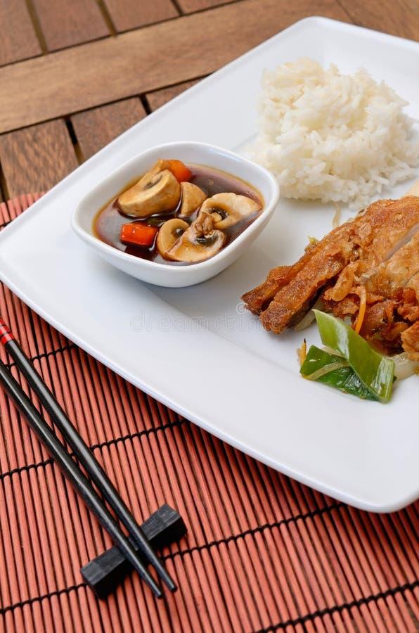 Pollo asiatico fotografie stock