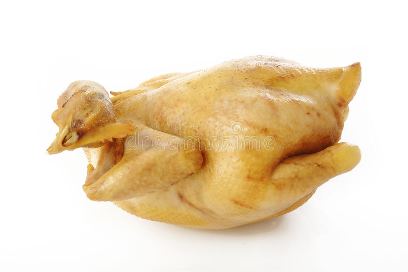 Pollo bollito fotografie stock libere da diritti