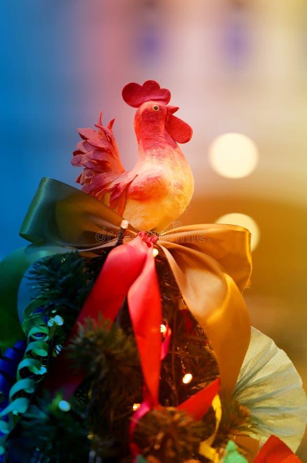 Pollo brillante de la Navidad de las fotos fotos de archivo libres de regalías