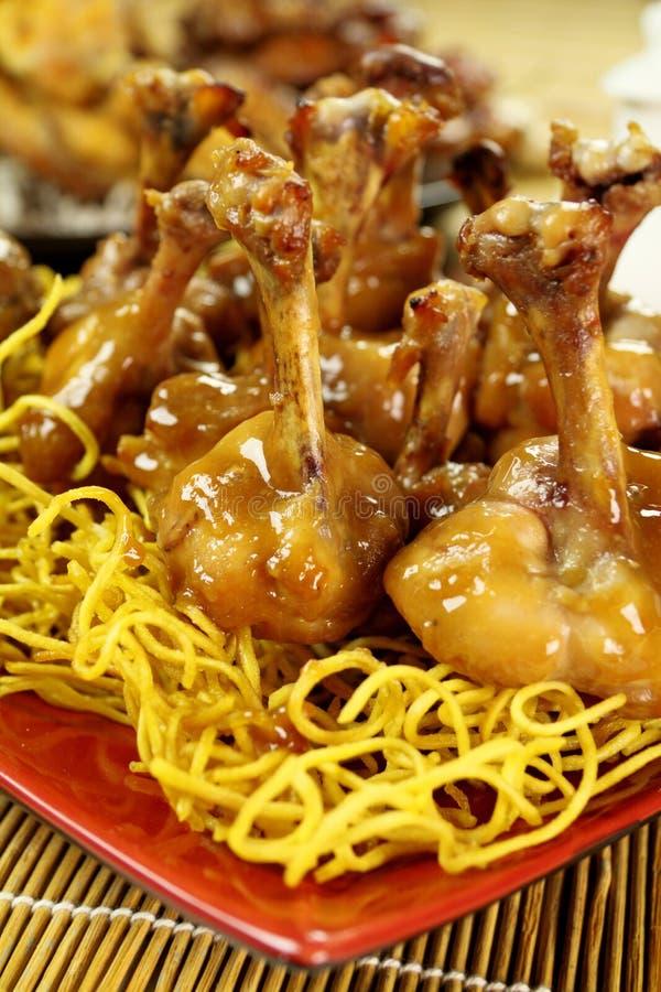 Pollo chino Drumettes imagen de archivo libre de regalías