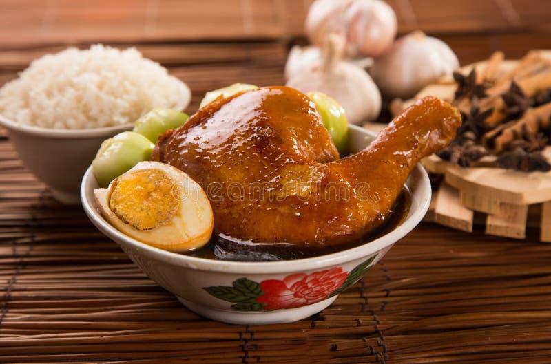 Pollo cocido foto de archivo libre de regalías