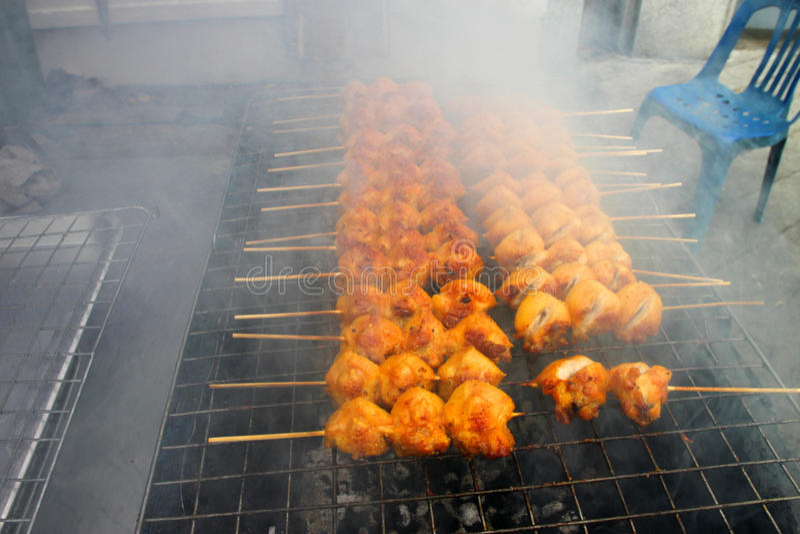 Pollo cotto immagine stock