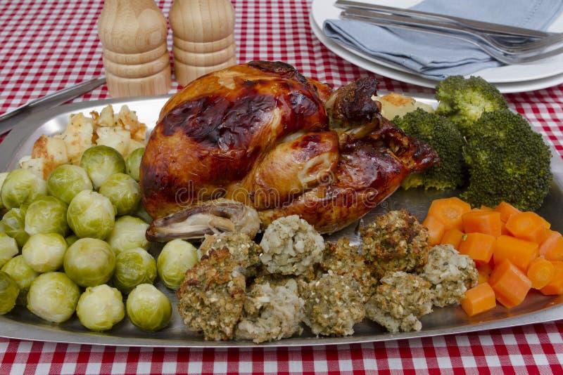 Pollo cucinato immagini stock libere da diritti