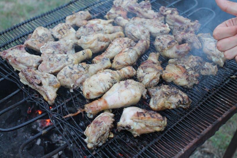 Pollo de la carne imagenes de archivo