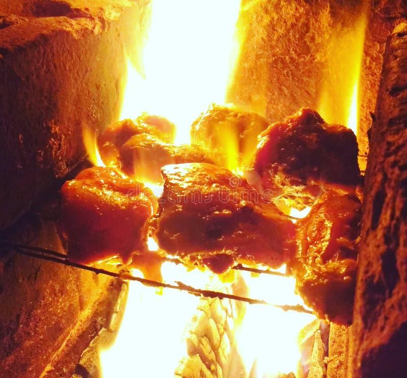 Pollo de Smokey imagenes de archivo