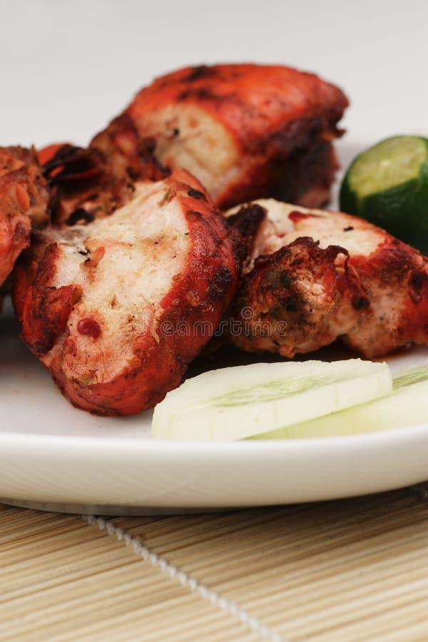 Pollo de Tandoori foto de archivo