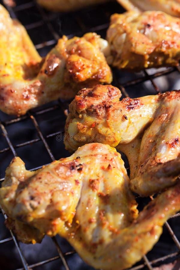 Pollo del barbecue immagine stock libera da diritti