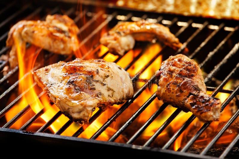 Pollo del barbecue fotografia stock