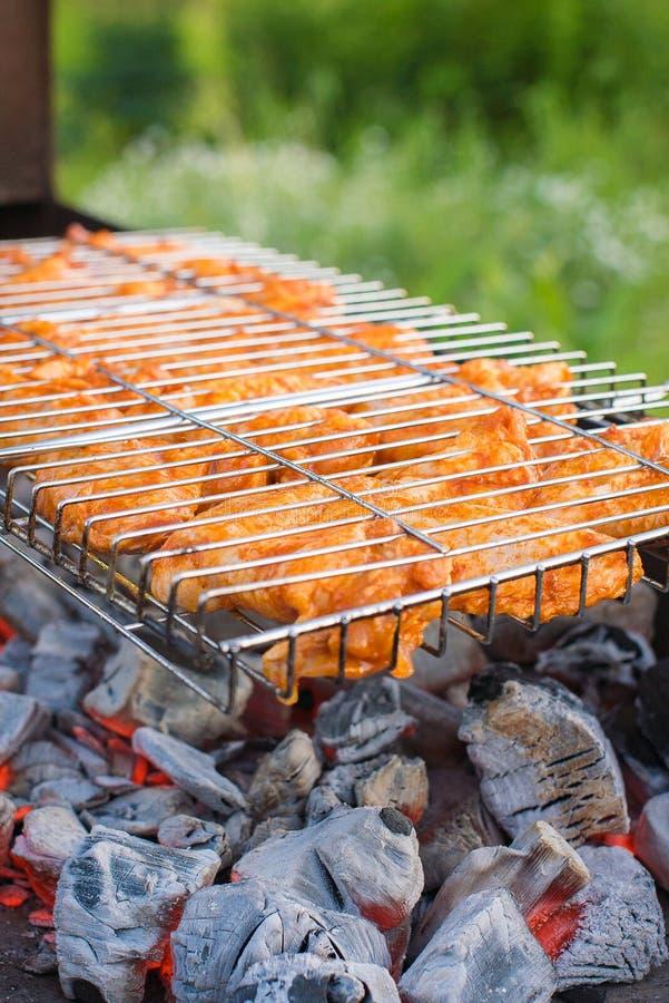 Pollo del barbecue immagini stock