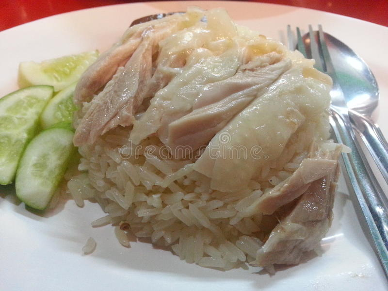 # pollo del riso immagine stock libera da diritti