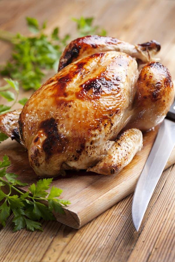 Pollo di arrosto fotografia stock