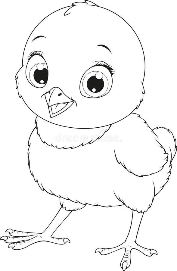 Pollo divertente royalty illustrazione gratis