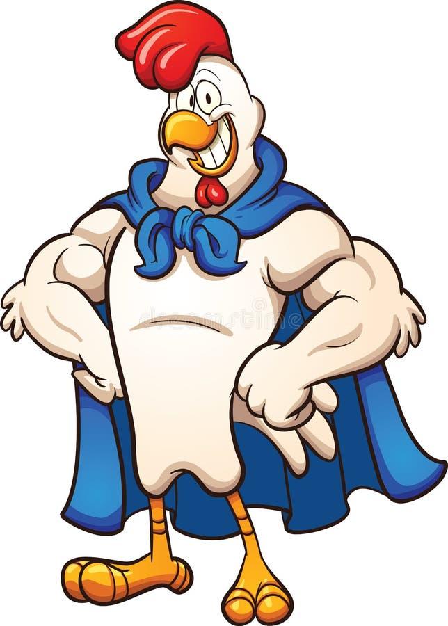 Pollo eccellente illustrazione vettoriale