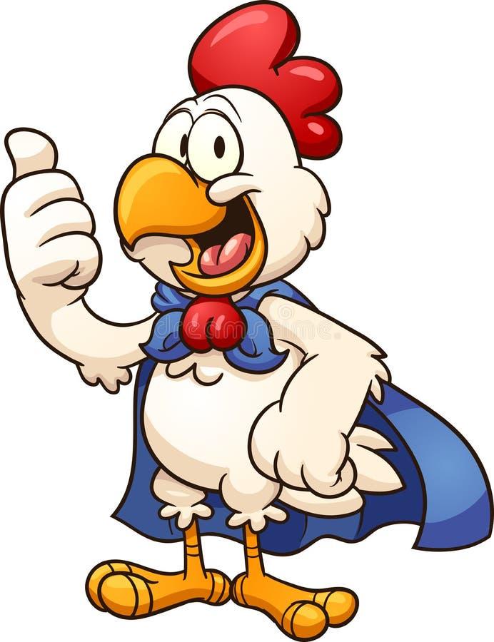 Pollo estupendo libre illustration