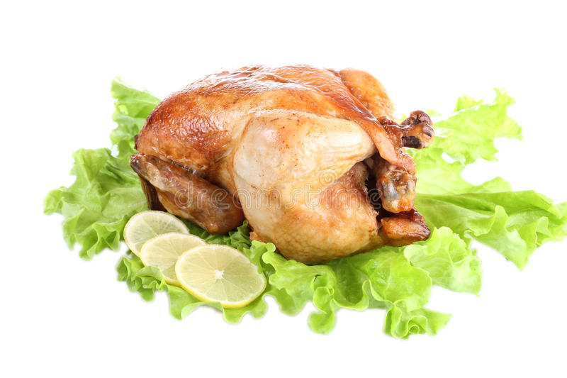 Pollo frito fotos de archivo