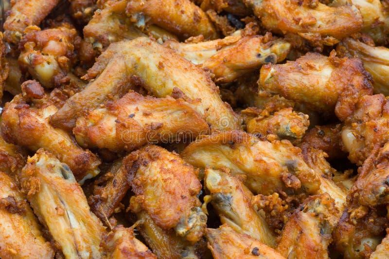 Pollo fritto fotografia stock libera da diritti