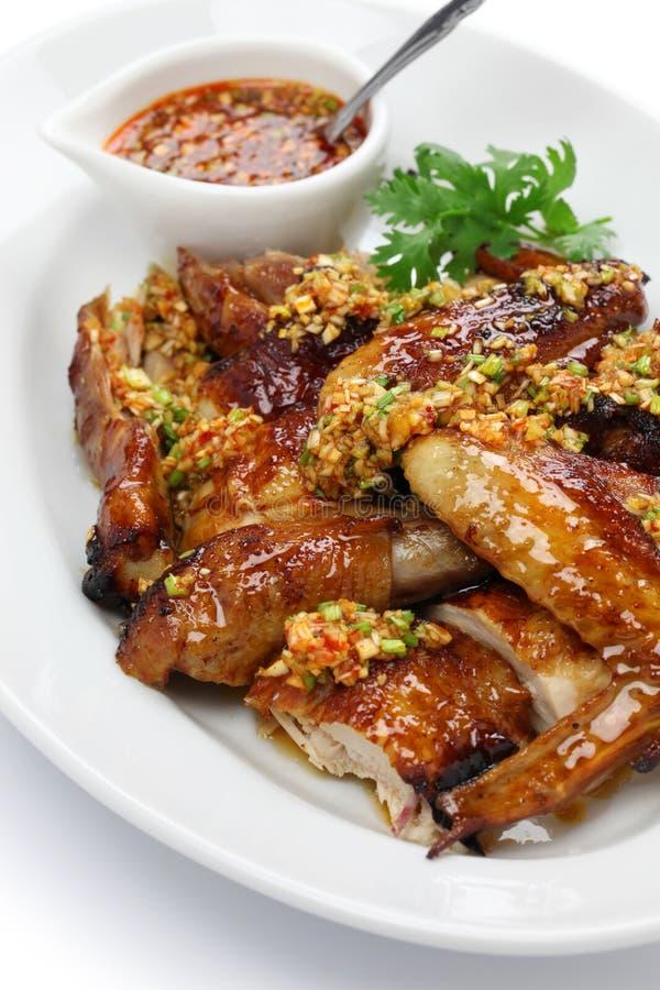 pollo fritto stile cinese immagini stock