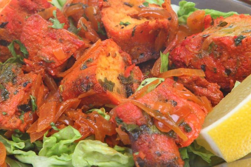 Pollo indiano Tikka fotografia stock libera da diritti