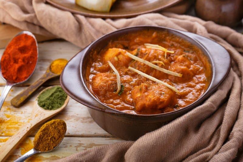 Pollo indiano Tikka Masala immagine stock libera da diritti