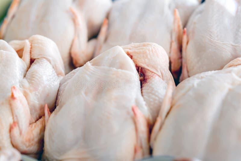 Pollo macellato crudo fotografia stock libera da diritti