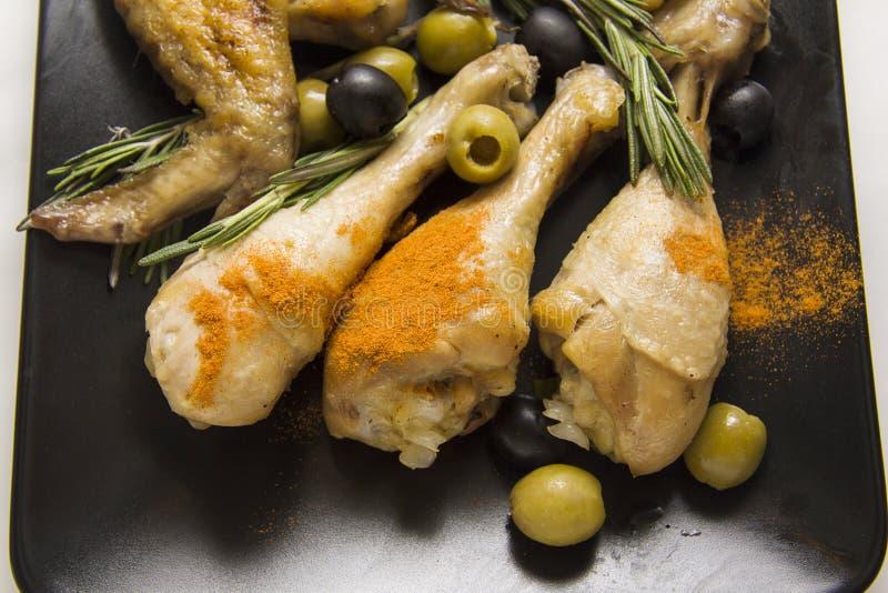 Pollo mediterráneo fotografía de archivo