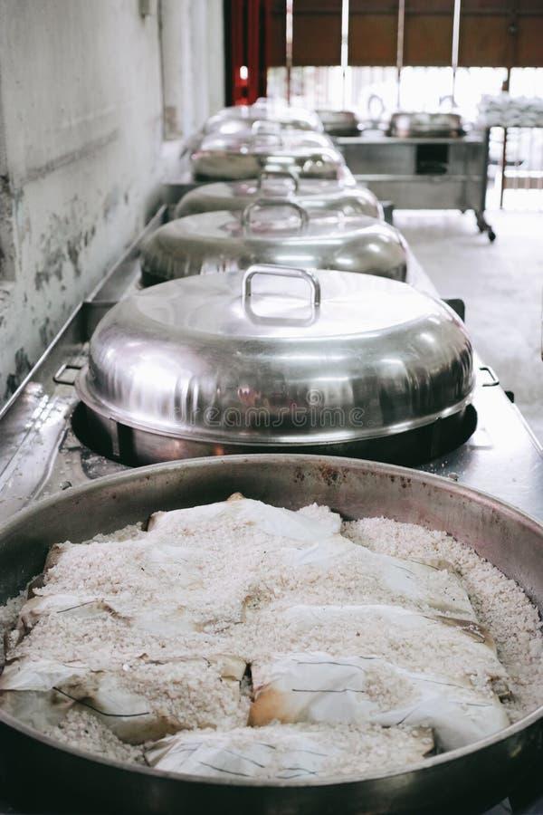 Pollo salado en Ipoh, Malasia imágenes de archivo libres de regalías