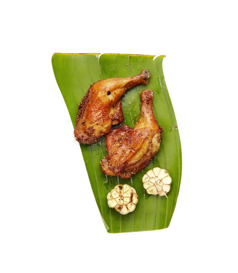 Download Pollo Tailandese Grigliato Con L'erba Fotografia Stock - Immagine di barbecue, erba: 56888038