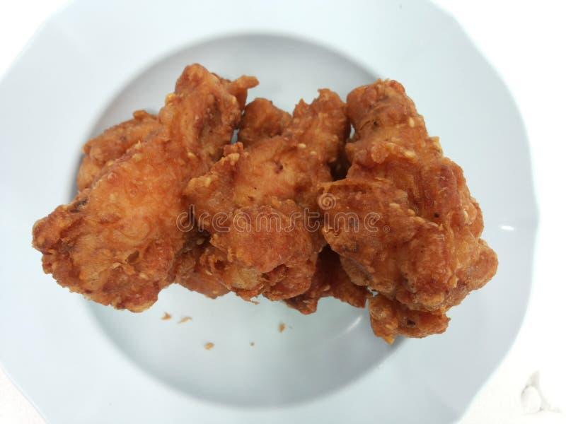 Pollos de la fritada imagen de archivo