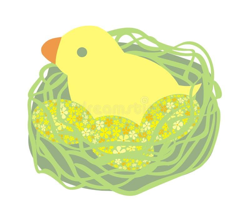 Polluelo de Pascua libre illustration