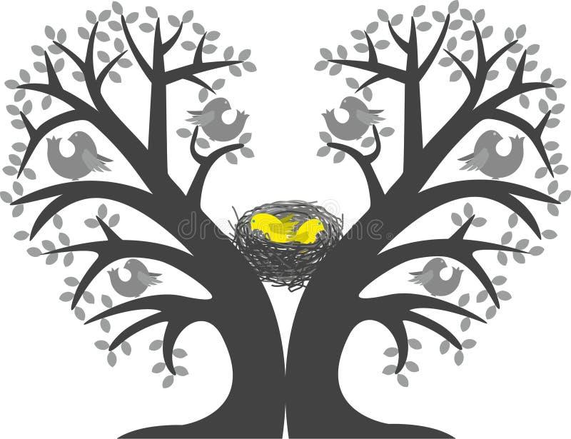 Polluelos en la jerarquía libre illustration