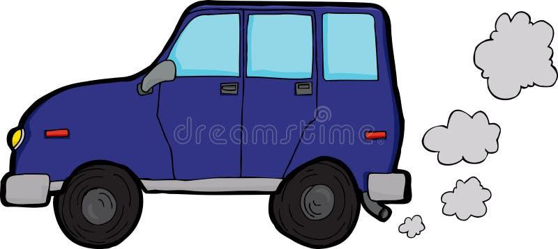 Polluting Vehicle Stock Photo