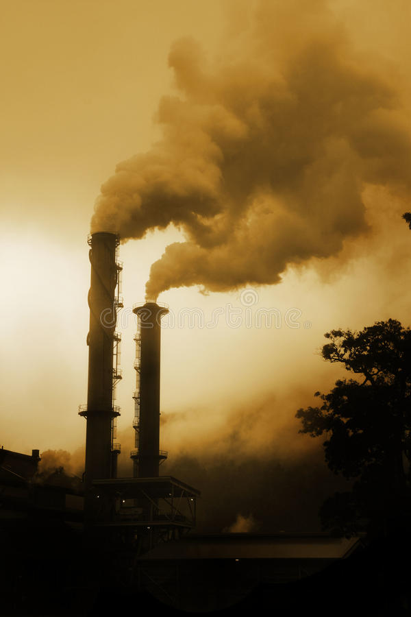 Pollution image stock