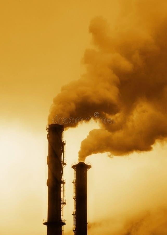 Pollution photographie stock libre de droits