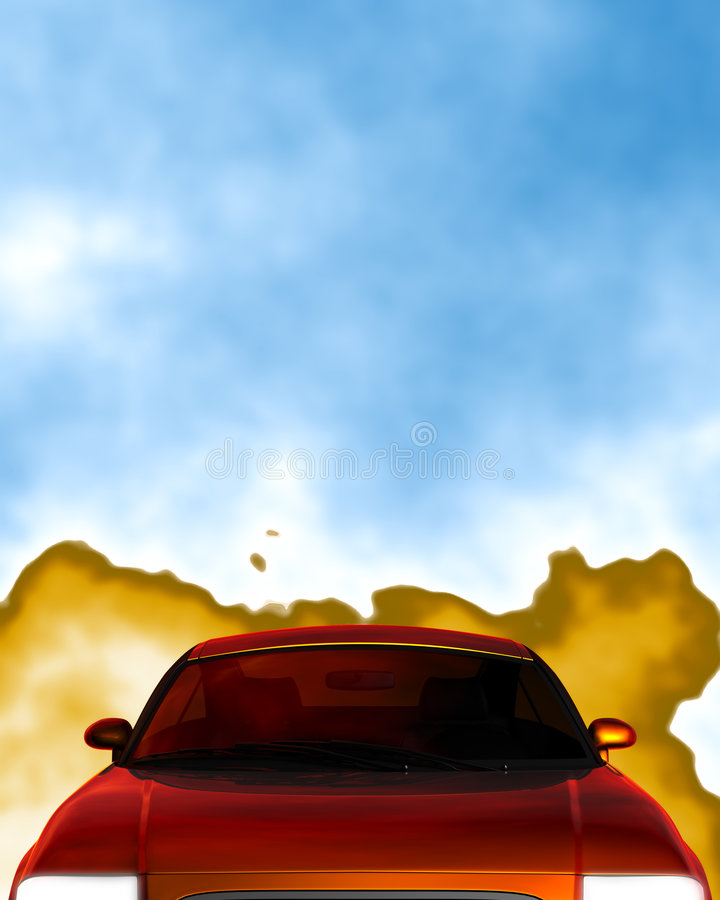 Download Pollution stock illustration. Image of hood, pollution - 1576222