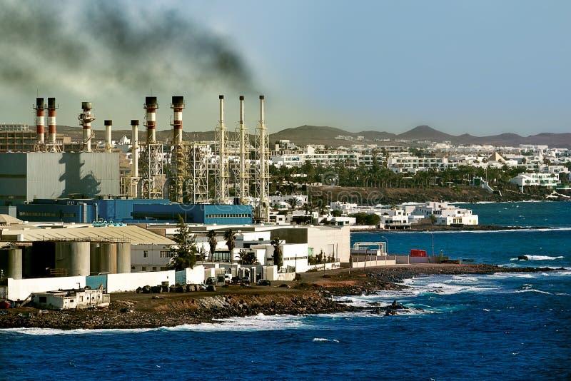 Pollution image libre de droits