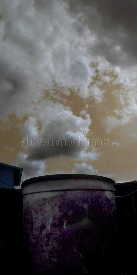 pollution photographie stock libre de droits