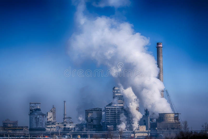 pollution images stock