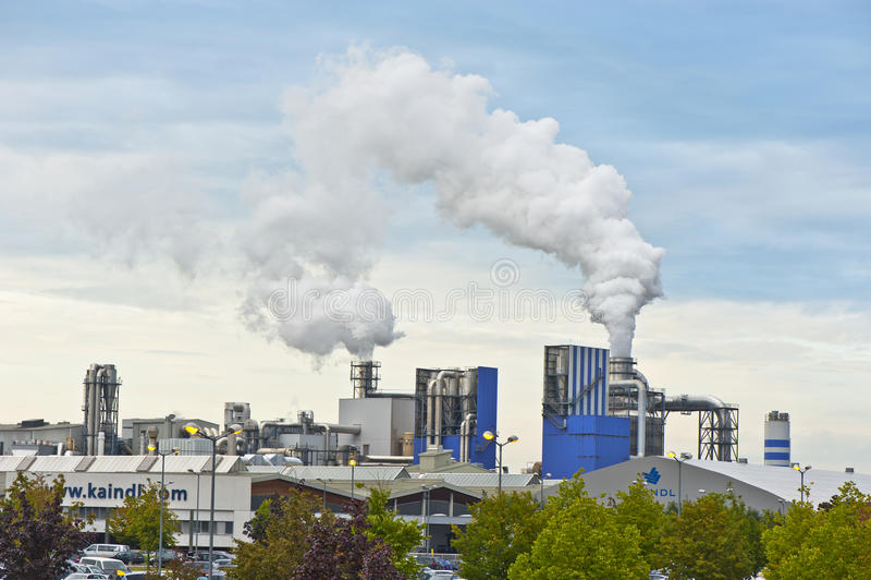 Pollution atmosphérique photo libre de droits