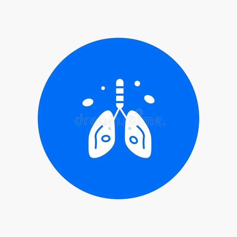 Pollution, Cancer, coeur, poumon, organe illustration stock