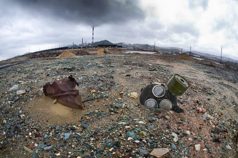 Pollution d'écologie photo libre de droits