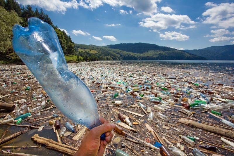 pollution d'environnement photographie stock