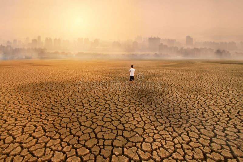 Pollution d'environnement d'activité de concept urbain images libres de droits